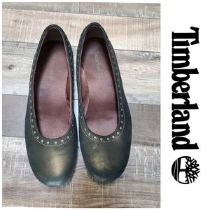 3/$25!💗 Timberland Leather Ballet Flats